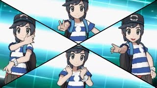 Pokemon Sun & Moon - All Battle Styles (Poses & Ball Throw Animations)