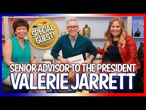 Senior Advisor Valerie Jarrett Talks Healthcare, Beyoncé and More! | Top That! INTERVIEW EDITION