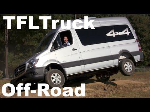 2015 Mercedes-Benz Sprinter 4X4 Off-Road First Drive: Dirt. Dust & Diesel