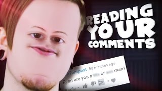 AM I A WHAT!? || Reading Your Comments