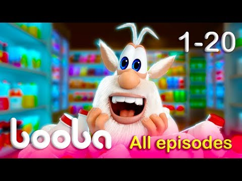 Booba - All Episodes Compilation (20-1) Funny cartoons for kids 2017 KEDOO animation for kids