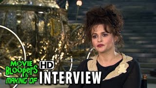 Cinderella (2015) Behind The Scenes Movie Interview - Helena Bonham Carter (Fairy Godmother)