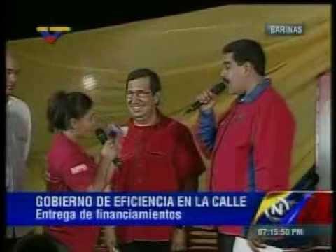 Integrante de comuna se queja de gestión de Adán Chávez