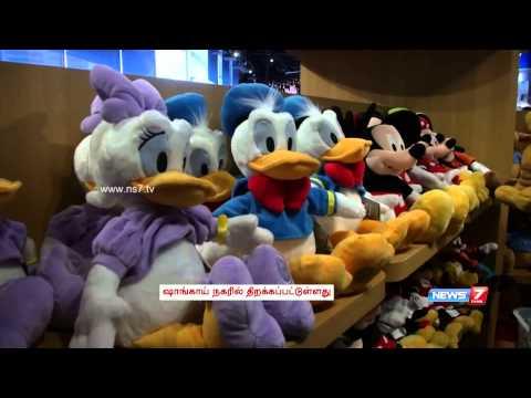 World's biggest Disney store opens in Shanghai | World | News7 Tamil