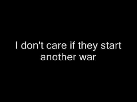 Antidote - I Dont Care