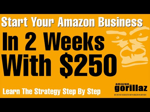 START AN AMAZON FBA PL  Business w/$250 in 2 Weeks! Learn How To Sell On Amazon Private Label