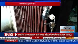 Robbery at Two Temples in Kukatpally of Hyderabad