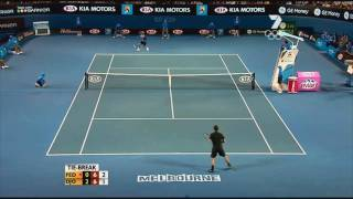 Roger Federer facing the impossible ! (HD)