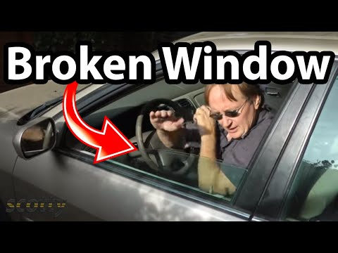 Fixing A Car Window That Fell Down