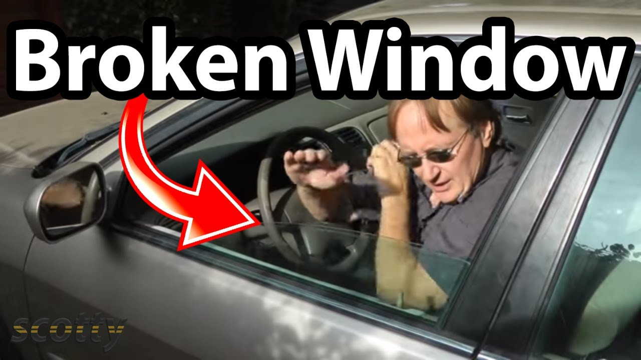 Fixing A Car Window That Fell Down Youtube