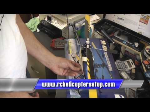 RC Helicopter Set-up Tutorial