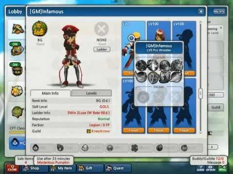 NALost Saga:GMInfamous Heroes and Stats