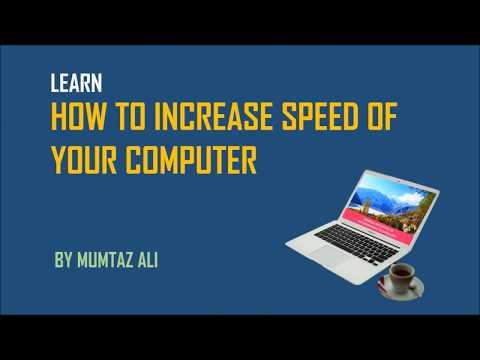 How to Increase My Computer Speed | Urdu | Hindi | SIIT Skardu