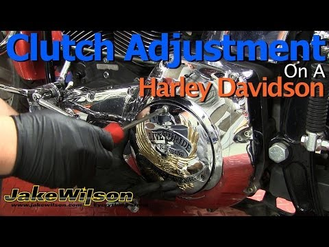 Harley Davidson Clutch And Clutch Cable Adjustment