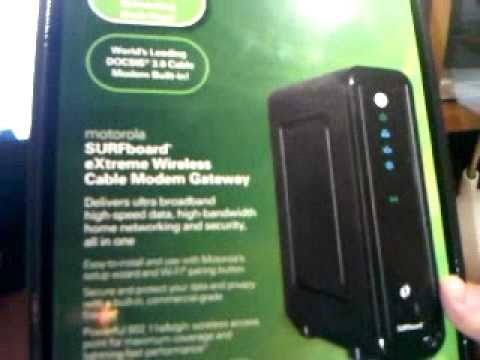 Motorola SBG6580 eXtreme Wireless Cable Modem REVIEW