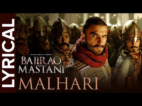 Lyrical: Malhari | Full Song With Lyrics | Bajirao Mastani