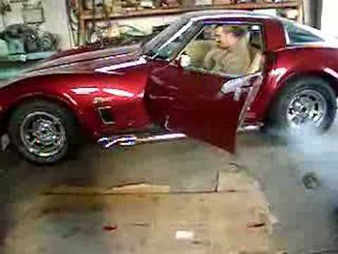 Chevrolet Corvette Stingray With Side Pipes YouTube