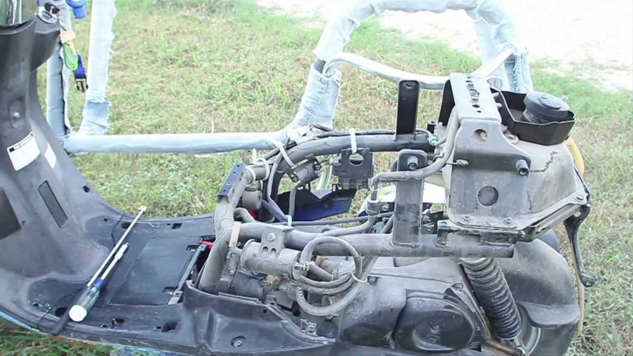 Yamaha Vino Carburetor Remove