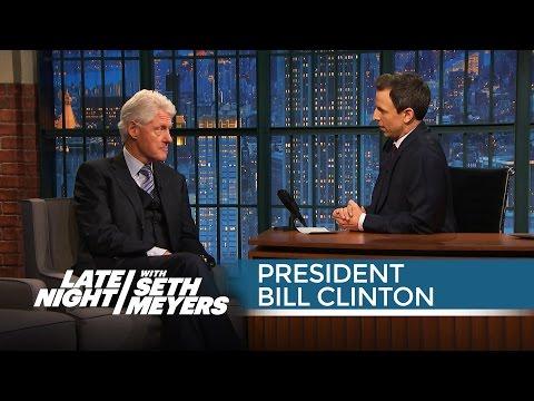 President Bill Clinton: