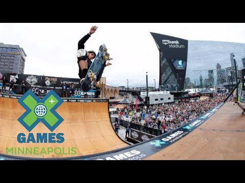 Jimmy Wilkins wins Skateboard Vert silver | X Games Minneapolis 2017
