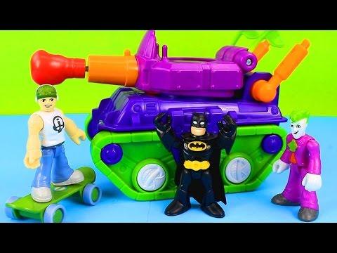 The Joker teams up with Imaginext Skateboard dude to capture Batman's treasure Just4fun290