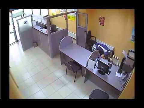 Ограбление банка в Кишиневе 20.07.2012