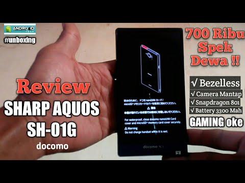 #unboxing 700ribuan SHARP AQUOS SH-01G Docomo. Ternyata?? !!!