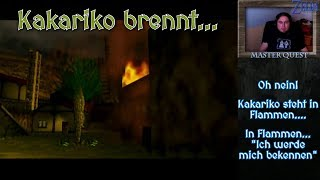 Kakariko brennt 🐀 ⚔ Legend of Zelda 🛡 Ocarina of Time 🛡 Master Quest 🏹 #064
