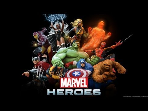 Marvel Heroes Gameplay - I AM IRON MAN!! (Marvel Heroes MMO Beta PC Gameplay HD)