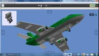 How to build a LEGO cargo plane