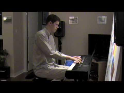 Tune Up (Miles Davis) - Geoff Peters solo jazz piano Video