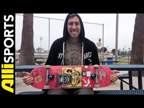 Mikey Taylor's Alien Workshop Skateboard, Thunder Trucks, Spitfire Wheels Setup 2013, Alli Sports