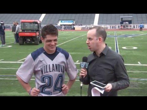 Villanova Men's Lacrosse: April 30, 2016 - Post-Game Interview with John Moderski
