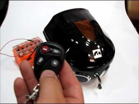 Кофр с MP3 плеером для мопедов/скутеров