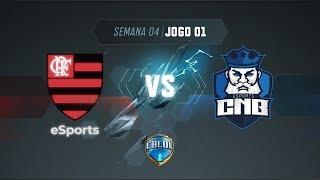 CBLoL 2019: Flamengo x CNB (Jogo 1) | Fase de Pontos - 1ª Etapa