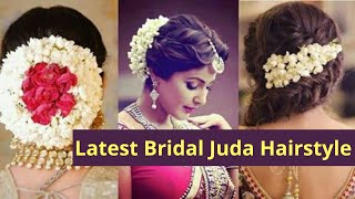 Quick & Easy Make 10 Curl Bridal Juda in 10 Mintues, Best Hair Style for Wedding