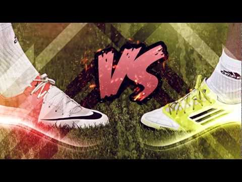 Nike Mercurial Vapor 8 vs Adidas F50 Adizero miCoach - Ultimate Test & Review | Messi vs Ronaldo