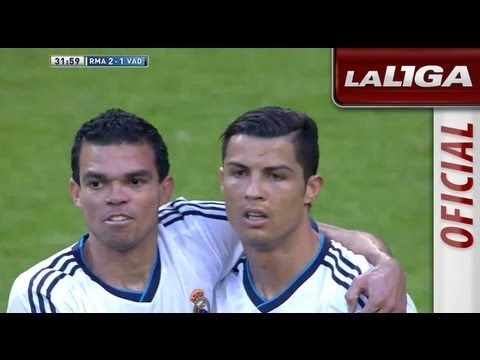 Gol de Cristiano Ronaldo (2-1) en el Real Madrid - Real Valladolid - HD