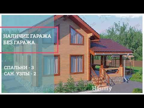 Проекты деревянных домов для строительства дома под ключ.  Фото и цены из бруса и бревна.