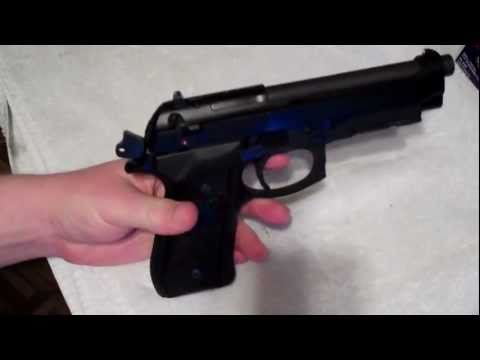 Beretta 92fs Broken Hammer Release Lever