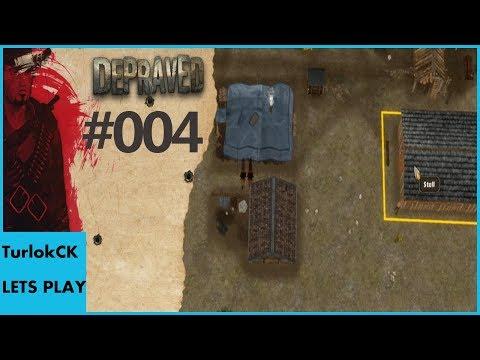 [Alpha Gameplay] Depraved #004- Steine, Stall und Schnitzel [deutsch]