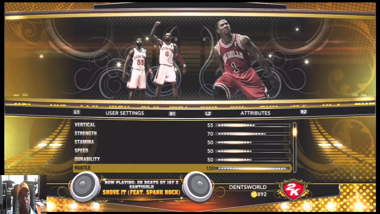 Nba 2k 13 a Custom Slider