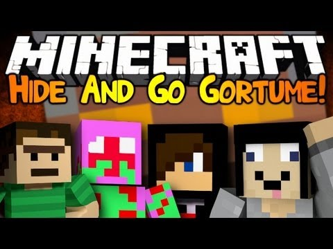 Minecraft: Mini Game: Hide And Go Gortume! - Maze Edition!