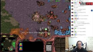 스타1 StarCraft Remastered 1:1 (FPVOD) Larva 임홍규 (Z) vs PianO 임진묵 (T) Longinus II 롱기누스2