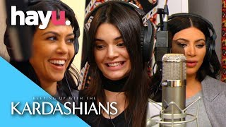 Move Over Jackson 5, the Kardashians Are In the Studio! | Keeping Up With The Kardashians