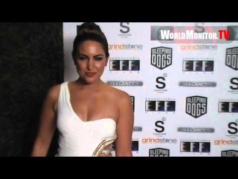 Estrella Nouri Big Sexy Booty Spin Vs Jlo And Kim Kardashian At Freelancers Film Premiere video
