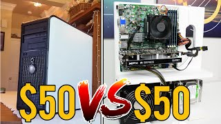 CIVIC VS ZEUS $50 Gaming PCs - Battle of the Budgets (2016)