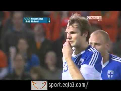 Netherlands vs Finland 2-0 All Goals & Highlights 06/09/11