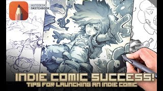 Tips for Indie comic success!