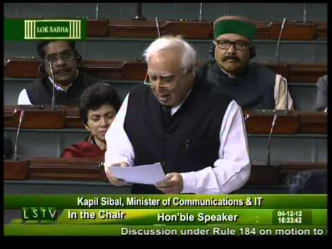 Kapil Sibal Speech in favour of FDI in retail [Full]